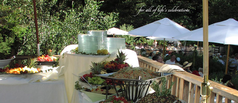 Backyard Wedding Buffet