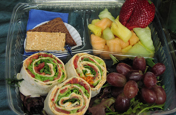 Boxed Lunch Aram Sandwiches