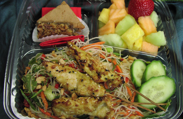 Boxed Lunch Chicken Satay