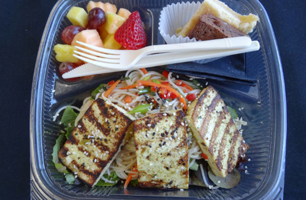 Boxed Lunch Salad with Tofu