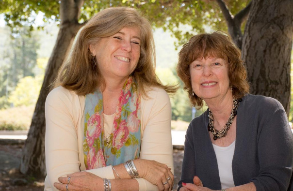 Teresa Hammond and Jan Goldberg