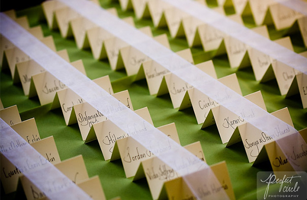 Wedding Table Placecards
